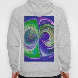 333 - Abstract Colour Orb Design Hoody