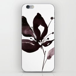 Organic Impressions No.308 by Kathy Morton Stanion iPhone Skin