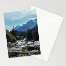 Mountains of Vancouver Island Stationery Cards
