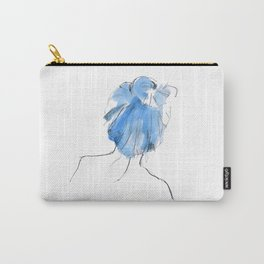 Blue Mess Carry-All Pouch