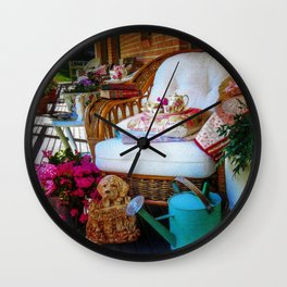The Favourite Chair Wall Clock