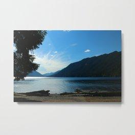 Lake Crescent Shore Metal Print