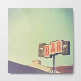 Bar. Los Angeles photograph Metal Print