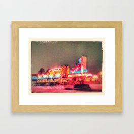 Glowing With Good Feelings Framed Art Print