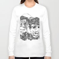 danisnotonfire Long Sleeve T-shirts featuring Danisnotonfire & AmazingPhil  by xzwillingex