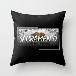 Sacramento Throw Pillow