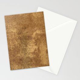 Abstract gold paper Stationery Cards