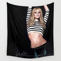 body Wall Tapestries featuring Body Language by Denda Reloaded