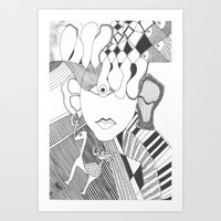 Little Horse Art Print