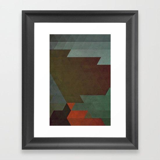 BYX Framed Art Print