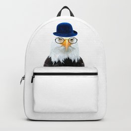 Funny Eagle Portrait Backpack