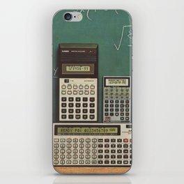 Casio Calculators...the good old days. iPhone Skin
