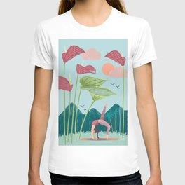Nature yoga T-shirt