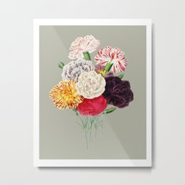 Colorful Flower Bouquet Metal Print