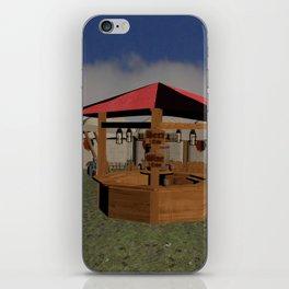 Medieval Market Tavern iPhone Skin