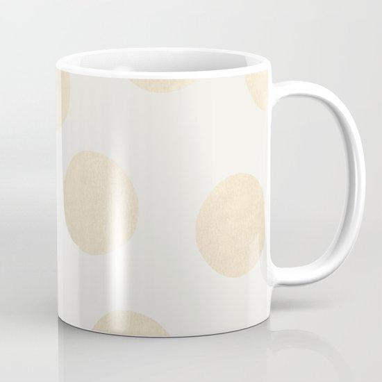 Gold Polka Dots Mug