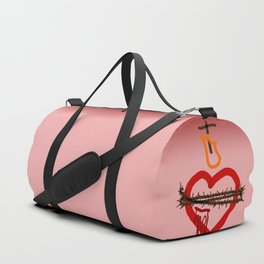 Hearts of Jesus and Mary Duffle Bag