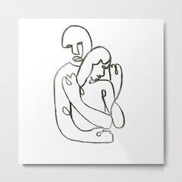 Hug01 Metal Print