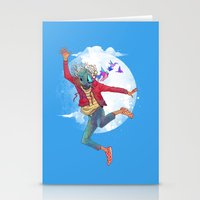 birdman Stationery Cards featuring BIRDMAN by GENO
