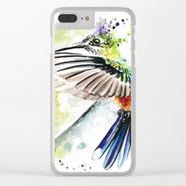 Hummingbird 3 Clear iPhone Case