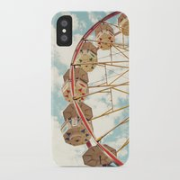 ferris wheel iPhone & iPod Cases featuring ferris wheel by Sylvia Cook Photography