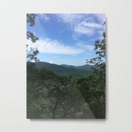 Pisgah National Forest Metal Print