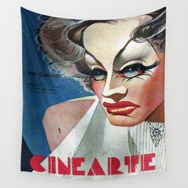 CineArte 1936 Joan Crawford Wall Tapestry