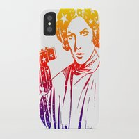 princess leia iPhone & iPod Cases featuring Princess Leia by mchlsrr