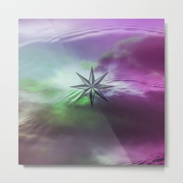 WIND ROSE II Metal Print