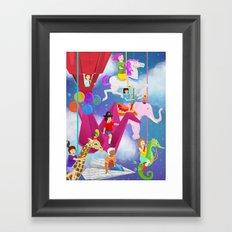 Ode to Childhood Framed Art Print