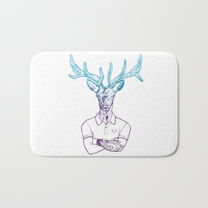 bambi's a grown up now  Bath Mat
