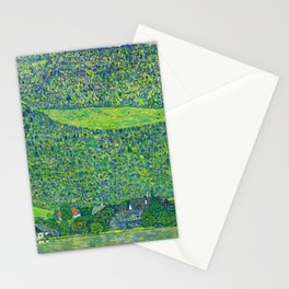 Klimt - Litzlberg on the Attersee (new editing) Stationery Cards