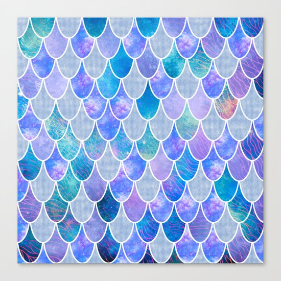 Mermaid Scales 5 Canvas Print By Vita G Society6