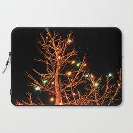 Holiday Lights Laptop Sleeve