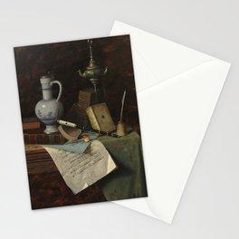 William Michael Harnett - My Gems Stationery Cards