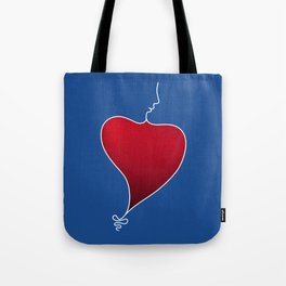 Heat Beat Tote Bag
