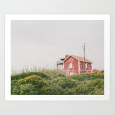 That red house Art Print