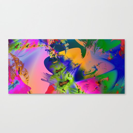 The Boneyard Canvas Print