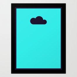 Silent Storm Art Print