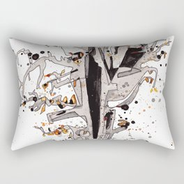 Squirrel in the Old Tree Rectangular Pillow