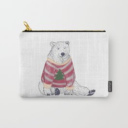 Beary Christmas Carry-All Pouch