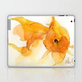 Watercolor Goldfish 1 Laptop & iPad Skin