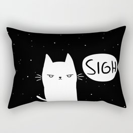 Cats Are Always Angry Rectangular Pillow