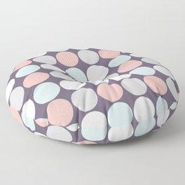 Custom Modern Multicolor Poke A Dots Pattern Floor Pillow
