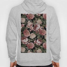 Lush Victorian Roses Hoody