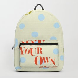 Toot Your Own Horn Backpack