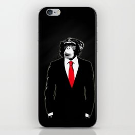 Domesticated Monkey iPhone Skin