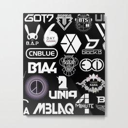 BTS kpop Metal Print