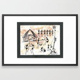 Celebration (Sasmita Hial) Framed Art Print