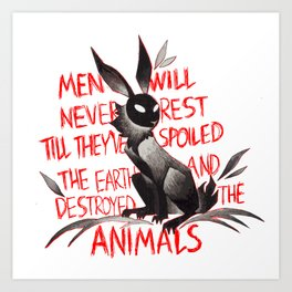 Watership Down Illustration Kunstdrucke